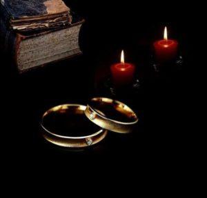Венчание с помощью темных сил