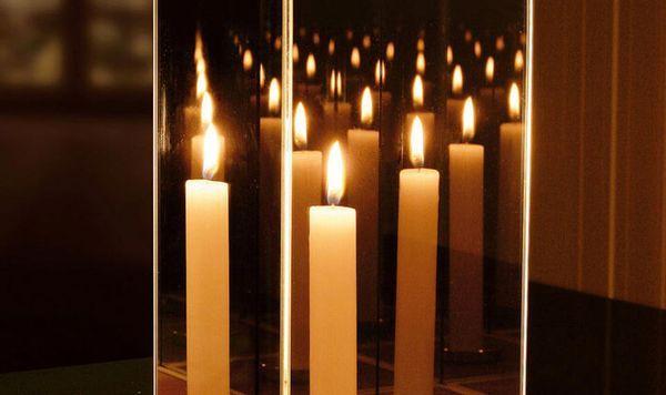 Гадание с зеркалом и свечей