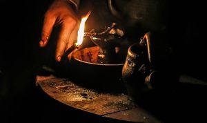 Черный приворот на свечах