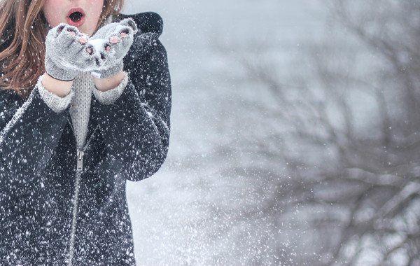 Cится снег