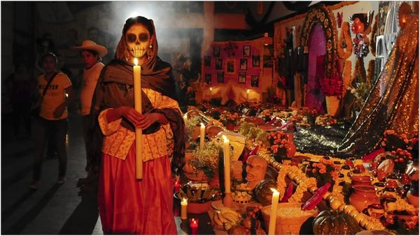Древний Самайн в Мексике