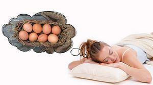 К чему яйца снятся беременной женщине