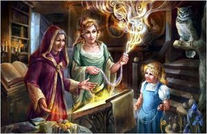 Как ведьмы получают силы