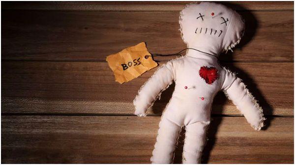 Кукла Вуду без частиц человека
