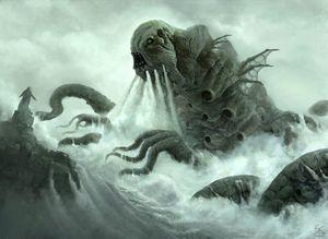 Левиафан фото демона