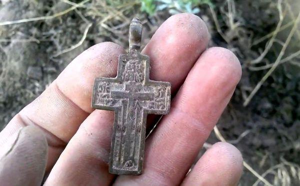 Найти чужой крестик