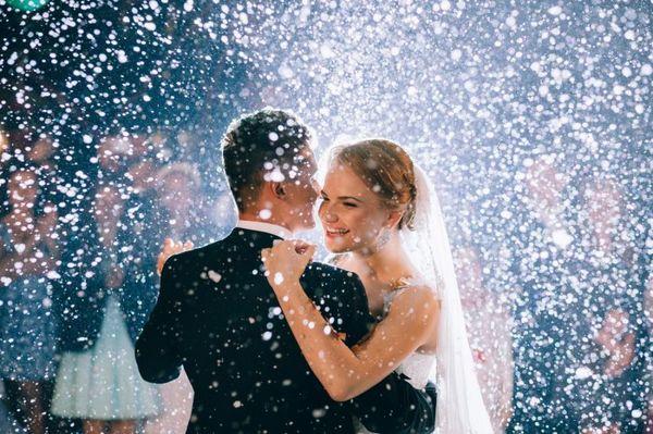 Первый снег на свадьбу