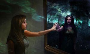 Призыв духа через зеркало