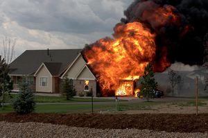Снится пожар чужого дома