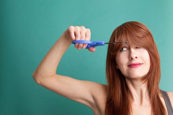 Стричь волосы самому себе