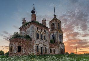 Заброшенная церков