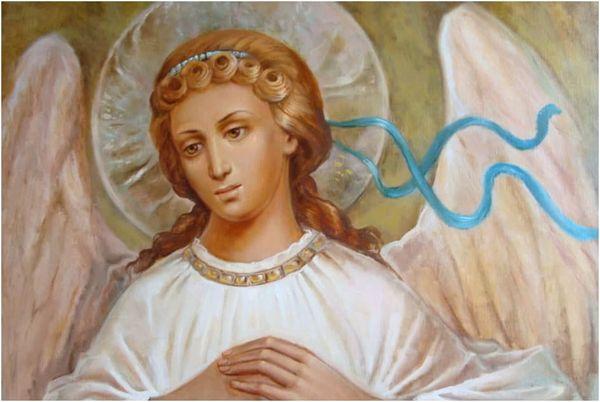 ангелы на иконах