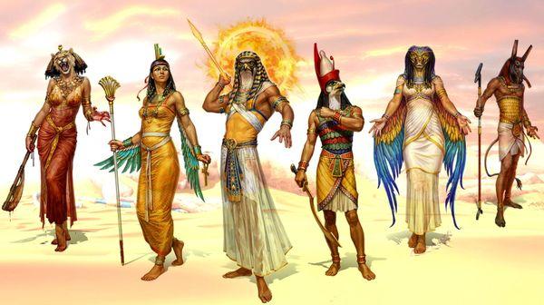 боги египта как выглядят