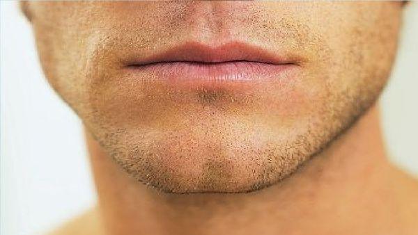 губы мужчин