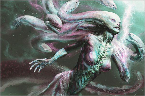 демон раков
