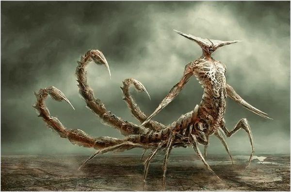 демон скорпиона