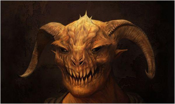 демон тельца