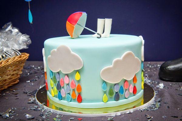 дождь в торте