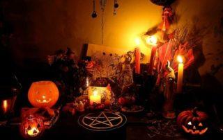 хэллоуинская аттрибутика для гаданий на хэллоуин