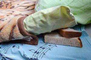 хлеб под подушку