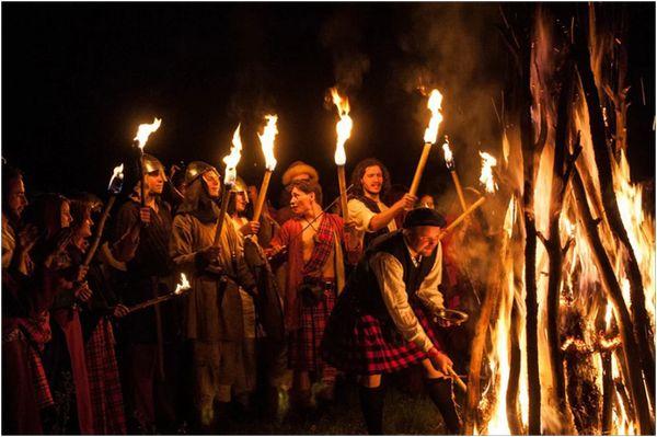 кельтский праздник самайн