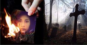 кладбищенский приворот с фотографией