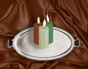 красная зеленая и белая свечи