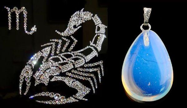 магические камни Скорпион