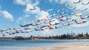 много самолетов во сне