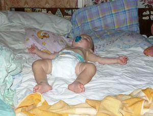 обкаканный ребенок во сне