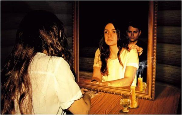 обряд на святки на зеркале
