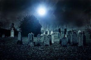 обряды на кладбищенской земле