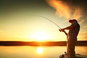 поймать рыбу мужчине