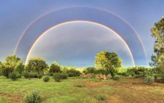 примета двойная радуга