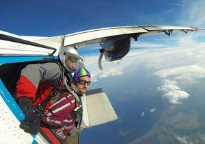 прыжок с парашютом с самолета во сне