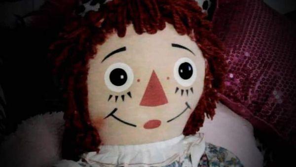 реальная кукла Анабель