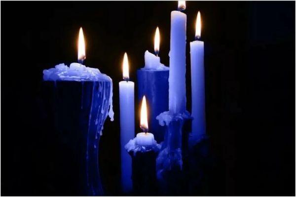 синие свечи