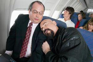 спать в самолете во сне