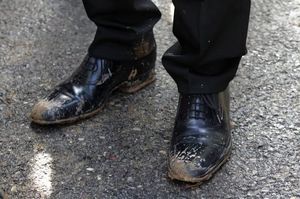 загрязнять обувь во сне
